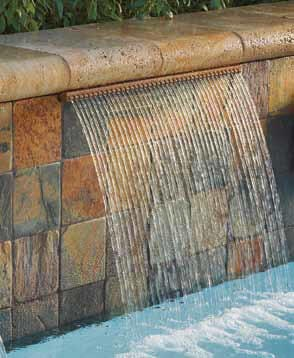Pentair Schwimmbad Wasserfall MagicFalls