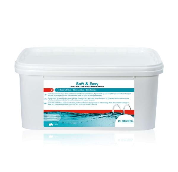 Soft & Easy chlorfreie Schwimmbadwasserpflege