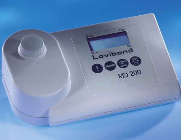 Pool Photometer MD 200 Chlor pH Lovibond