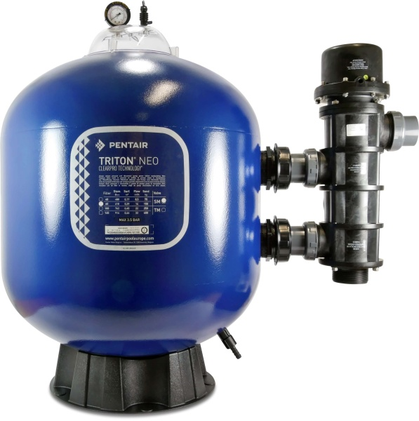 Triton Neo SM Pentair Sandfilter ClearPro Technik